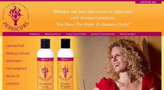 Jessicurl Homepage