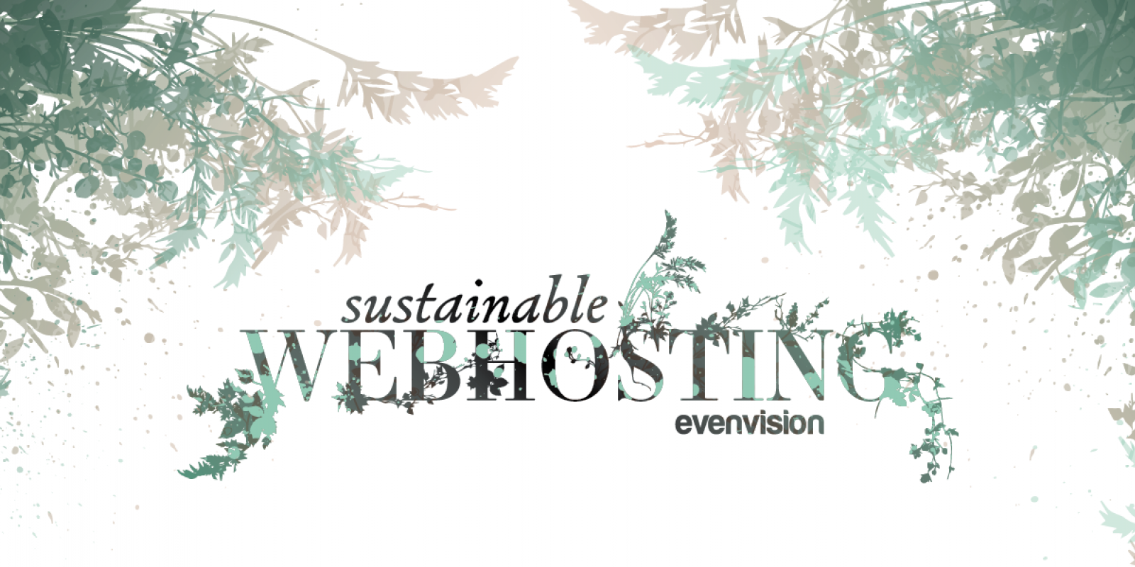 Header Graphic for EvenVision Blog - Sustainable Web Hosting